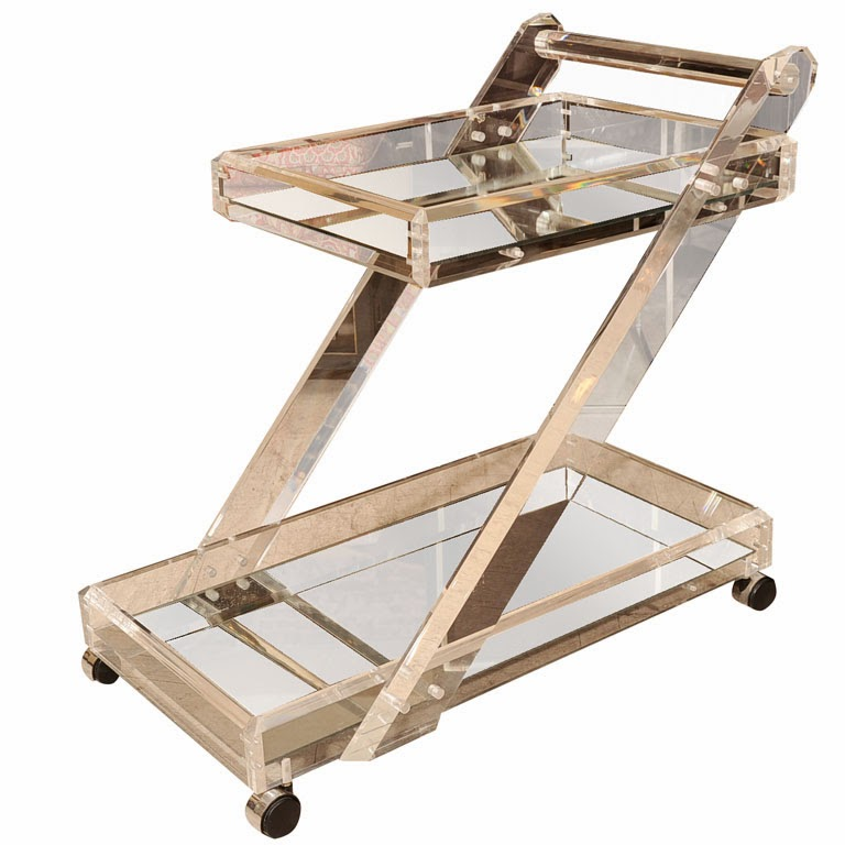 Current Obsession: Bar Carts