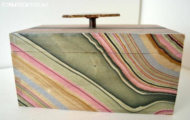 Marblepaperstorageboxformyloveof