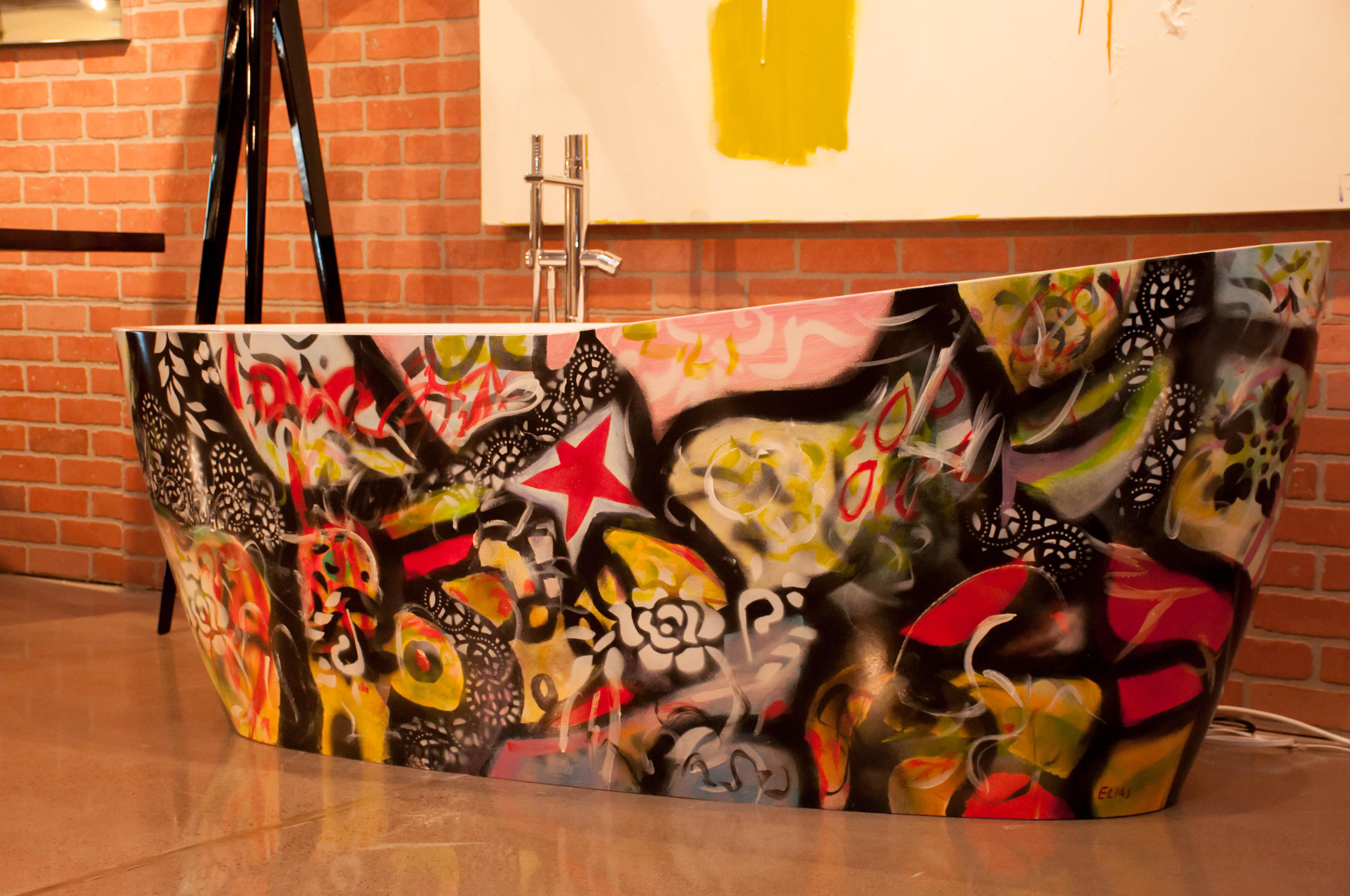 Graffiti Tub