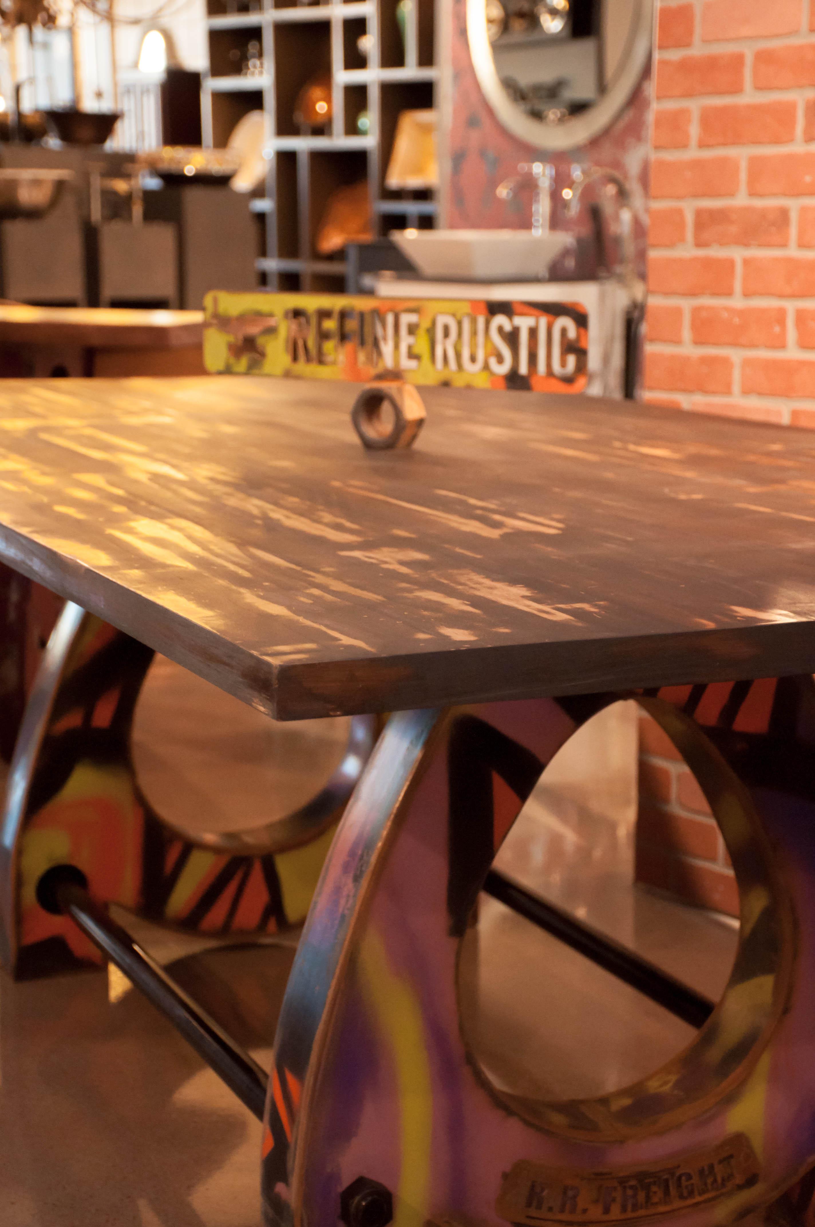 Refine Rustic Custom Table