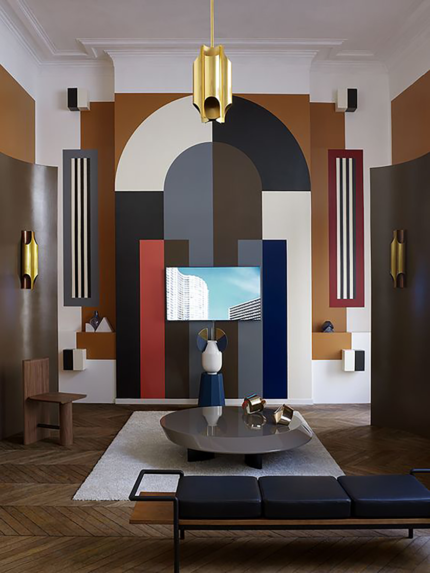 Art Deco Living Spaces