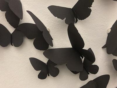 Art: Black Butterflies