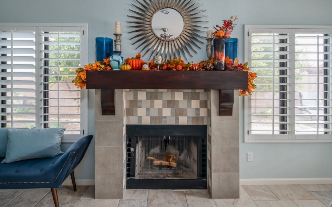 Transitional Custom Fireplace
