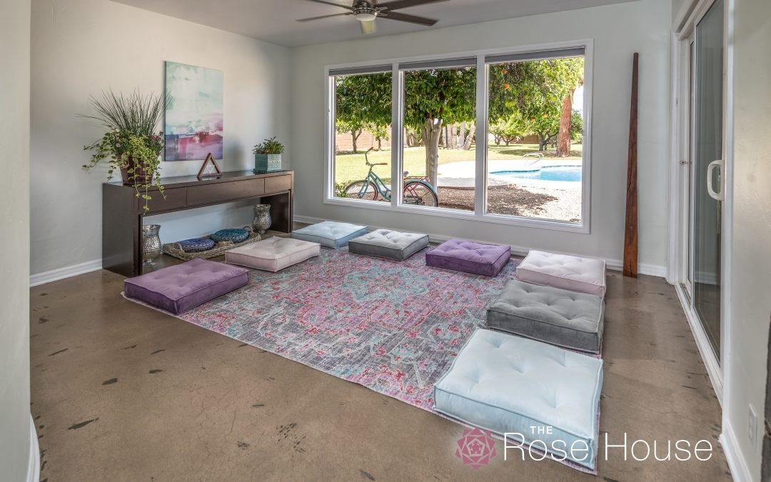 Rose House Meditation Room – R